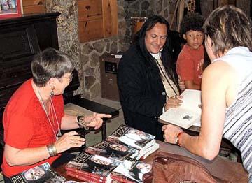 Sandy Nathan & Bill Miller at the Gathering Book Signing