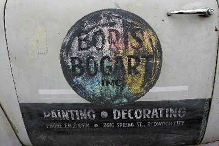BORIS BOGART'S LOGO FROM HIS TRUCK!
